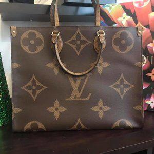Louis Vuitton Onthego Monogram Reverse
